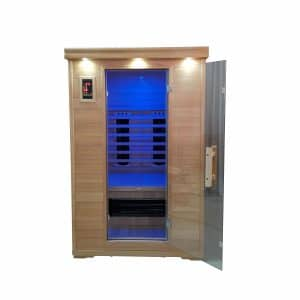 2 Person Salt Cave with Sauna