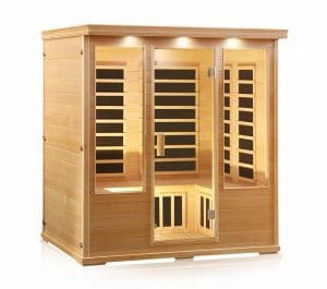 Four Person Carbon Fiber Sauna