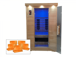 Salt Caves with Infrared Sauna Heating