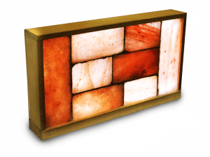 "Small 13.5"" x 23"" Himalayan Salt Brick Wall Panel"