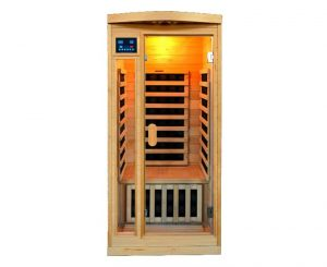 One Person Salt Cave with Infrared Sauna Heating