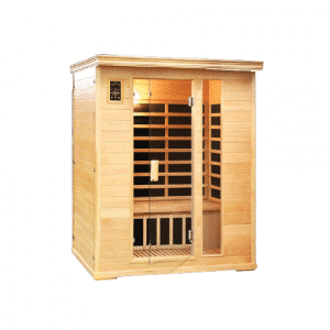 Two Person Salt Cave with Infrared Sauna Heating