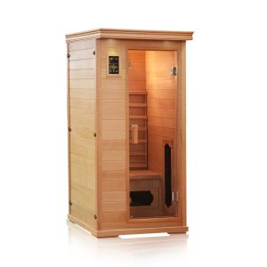 CERAMIC INFRARED SAUNA – 1 PERSON – FREE SHIPPPING