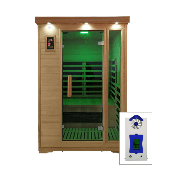 2 Person Salt Room Cabin with Halogenerator