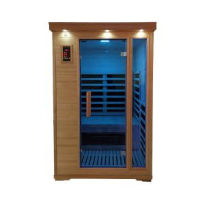 Two Person Carbon Fiber Infrared Sauna-Full Spectrum with Low EMF