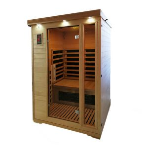 CARBON FIBER INFRARED SAUNA – 2 PERSON – FREE SHIPPING