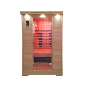 CERAMIC INFRARED SAUNA – 2 PERSON – FREE SHIPPING