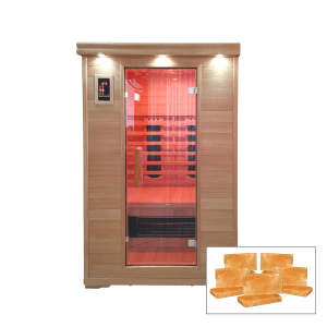 SALT CAVE WITH CERAMIC HEATING – 2 PERSON