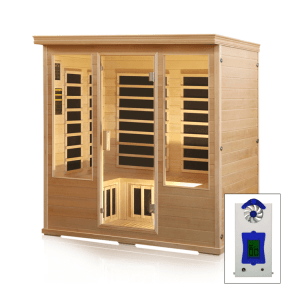 SALT ROOM CABIN WITH HALOGENERATOR – 4 PERSON
