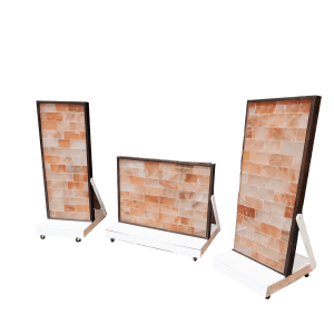 Pedestal Display Base for Two Foot Wide Salt Brick Wall Panel