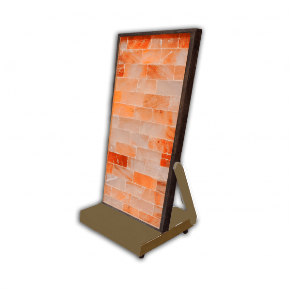 Pedestal Base for Two Foot Wide Salt Wall Panels-Brown