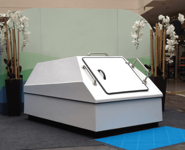 Large Sensory Deprivation Float Tank